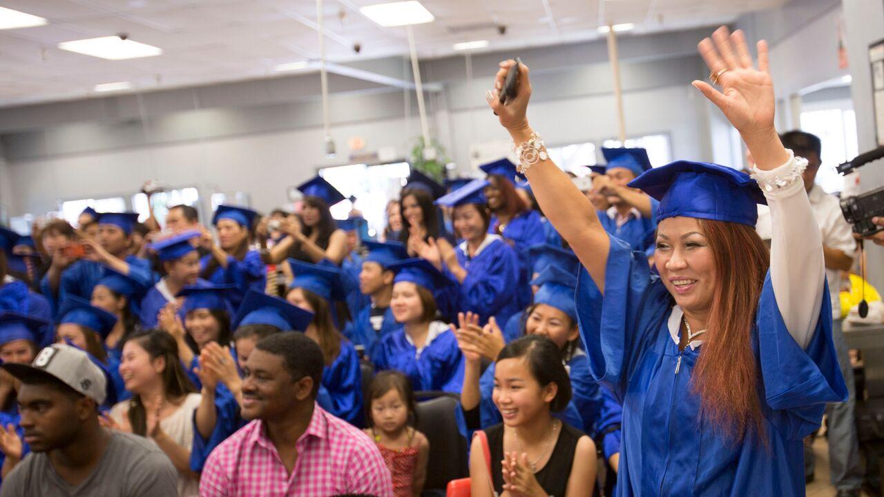 Advance Beauty College Graduation Ceremony Orange County