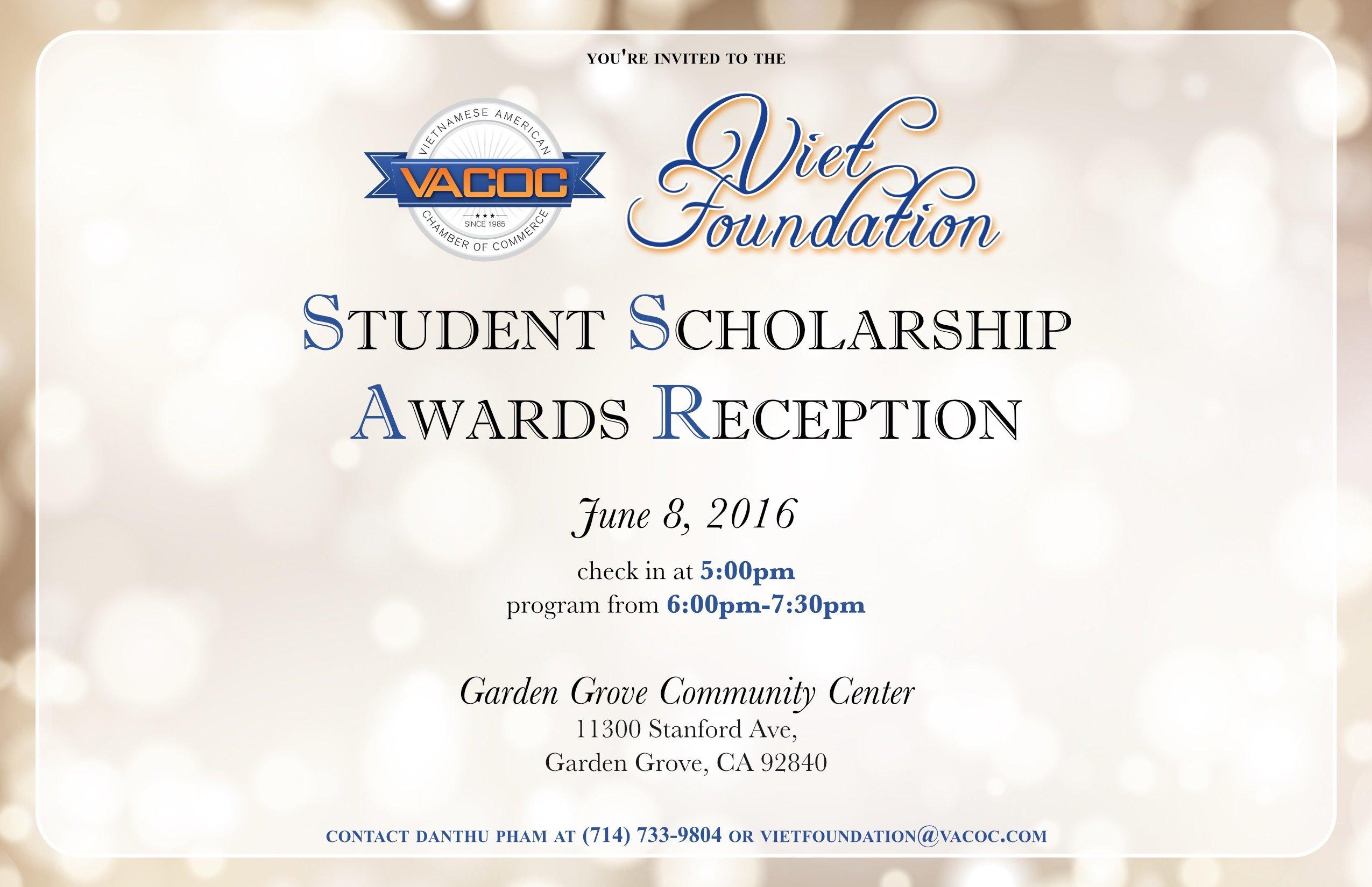 Viet Foundation Invitation